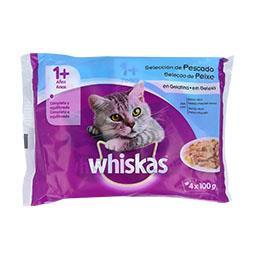 Alimento húmido para gato +1 ano, sabor a peixe