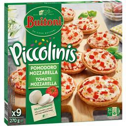 Piccolinis tomate e mozzarella
