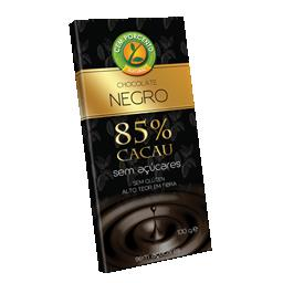 Chocolate negro 85 % cacau