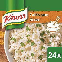 Caldo p/arroz, 24 cubos