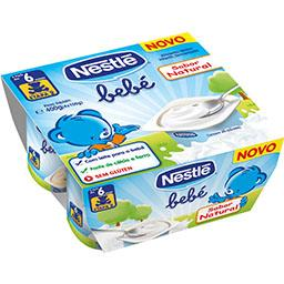 Nestle bebe natural 4x100g