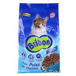 Alimento seco para gato, peixe/legumes