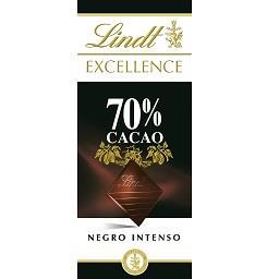 Tablete de chocolate excellence, 70% cacau