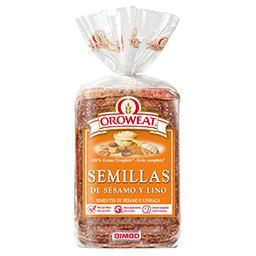 Pão de forma oroweat: sésamo e linhaça