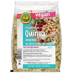 Crocantes de quinoa