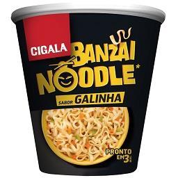 Noodle banzai galinha