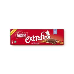 Tablete de chocolate extra fina c/ amêndoa