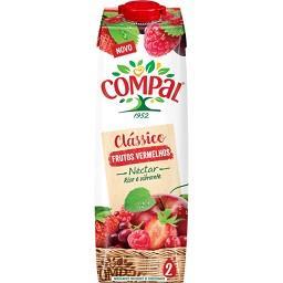 Compal clássico néctar frutos vermelhos