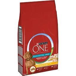 Ração seca de frango e arroz para cão médio/grande j...
