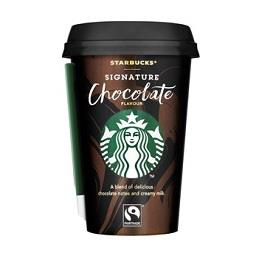 Chocolate signature starbucks