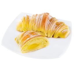 Croissant Brioche com creme