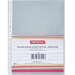 Bolsas catálogo A4 cristal