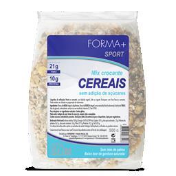 Mix cereais crocantes sem açúcar