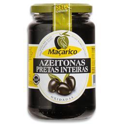 Azeitona preta em frasco