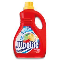 Detergente líquido p/ máquina lavar roupa cores