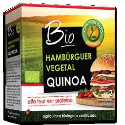 Hambúrguer quinoa e spirulina bio