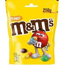 M&m s amendoim