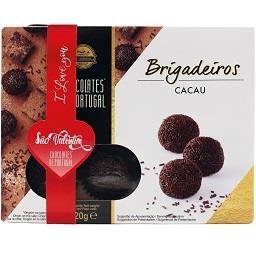 Brigadeiros chocolate/cacau