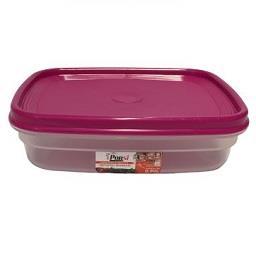 Caixa para alimentos retangular