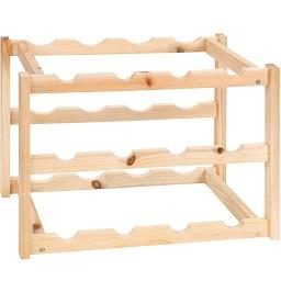 Garrafeira de madeira