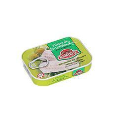 Filete sardinha em azeite