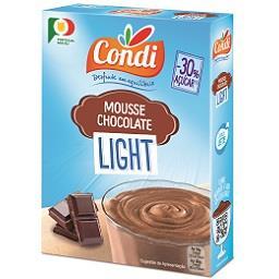 Mousse de chocolate light