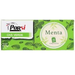 Chá verde menta