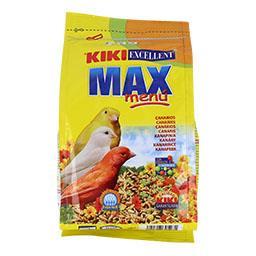 Kiki max menu para canários
