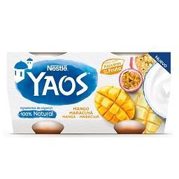 Yaos iogurte magro maracujá
