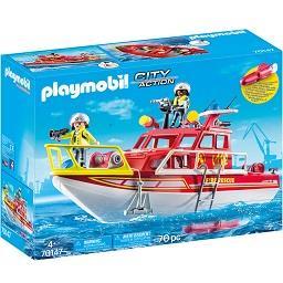 Barco resgate dos bombeiros
