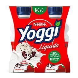 Iogurte líquido Yoggi stracciatella