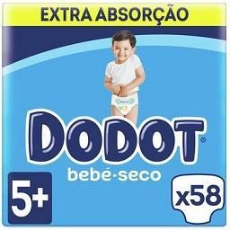 Fraldas bebé extra seco T5