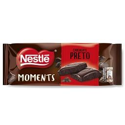 Tablete de chocolate de preto