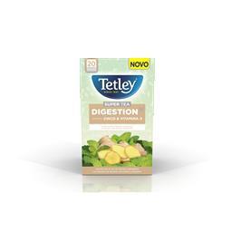 Chá tetley supertea digeston 10x20x2g