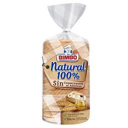 Pão de forma 100% natural