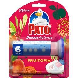 Bloco sanitário discos activos dispensador fruitopia