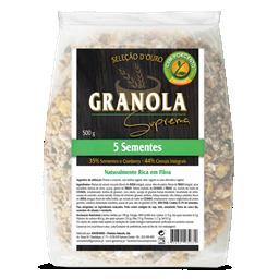 Granola suprema 5 sementes