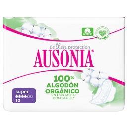 Pensos Higiénicos Cotton Protection com Abas 100% Or...