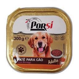 Comida húmida para cão de borrego