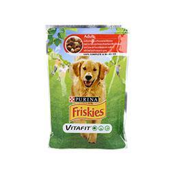 Comida húmida para cão adulto com vaca e batatas em ...
