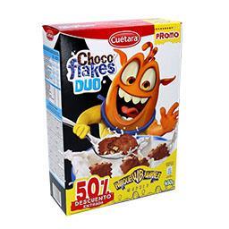 Choco flakes duo