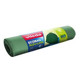 Sacos para Lixo Ecobag Fecho Fácil 30 l