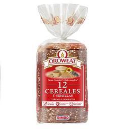 Pão oroweat 12 cereais