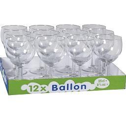 Conjunto de 12 calices ballon 25cl