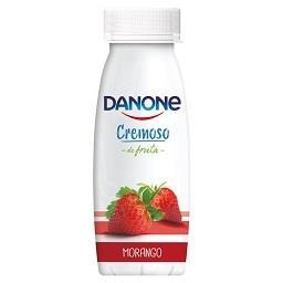 Iogurte cremoso de morango