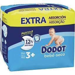 Fraldas bebé extra seco T3