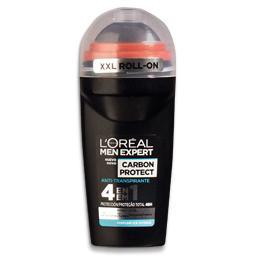Desodorizante roll-on, carbon ice