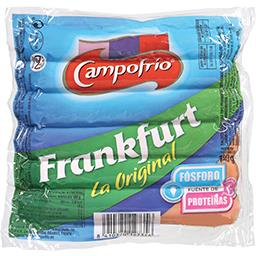 6 salsichas tipo frankfurt original