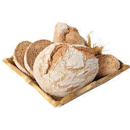 Pão 100% integral forno de lenha