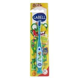 Escova de dentes infantil 3 a 6 anos